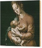 Morales, Lu�s De 1515-1586. The Virgin Wood Print