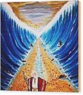 Moses. Wood Print