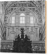 Mosque Cathedral Of Cordoba  Wood Print