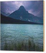 Mount Chephren Wood Print