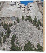 Mount Rushmore Wood Print