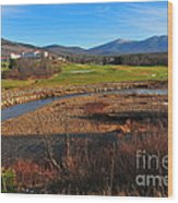 Mount Washington Wood Print