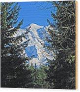 Mt. Rainier I Wood Print