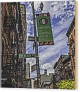 Mulberry St - Nyc Wood Print