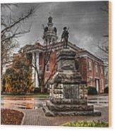 Murfreesboro Town Hall Wood Print