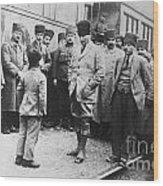 Mustafa Kemal Ataturk  Wood Print