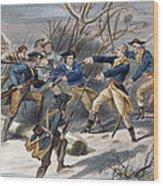 Mutiny: Anthony Wayne 1781 Wood Print