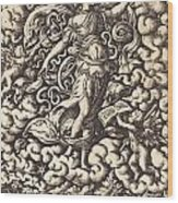 Mvsica Wood Print