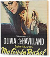 My Cousin Rachel, Olivia De Havilland Wood Print
