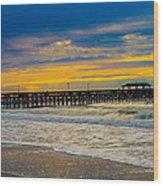 Myrtle Beach Morning Wood Print