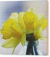 Narcissus Wood Print