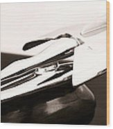 Nash Hood Ornament Wood Print