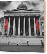 National Gallery London Wood Print by Ed Pettitt