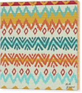 Navajo Mission Round Wood Print