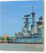 Naval Park And Museum Wood Print