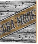 Negra Modelo Wood Print