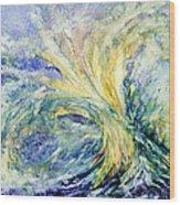 Neptune's Gold  Wood Print