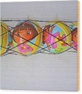 Net Balls Wood Print