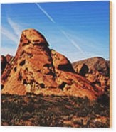Nevada - Valley Of Fire Wood Print
