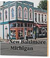 New Baltimore Michigan Wood Print