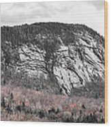New Hampshire Mountain Wood Print