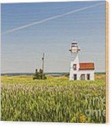 New London Range Rear Lighthouse Wood Print