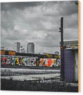 New Orleans Skyline From The Creative Part Of Town Wood Print