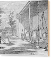 New York Bell Foundry Wood Print