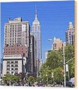 1-new York City Wood Print