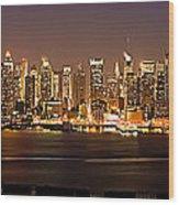 New York City Skyline Wood Print