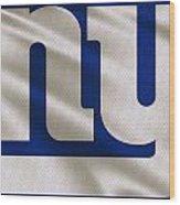 New York Giants Uniform Wood Print