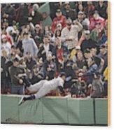 New York Yankees v Boston Red Sox Wood Print