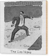 New Yorker April 5th, 1993 Wood Print