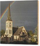 Newman United Methodist Church Wood Print