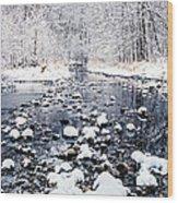 Nine Mile Creek Wood Print