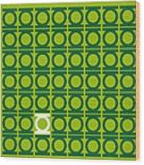 No120 My Green Lantern Minimal Movie Poster Wood Print by Chungkong Art