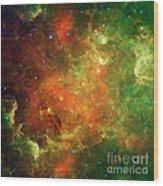 North America Nebula Wood Print
