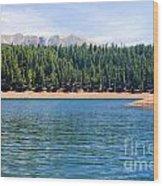 North Catamount Lake Wood Print