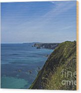 Photographs Of Cornwall North Coast Cornwall Wood Print