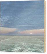 Norwegian Pearl Wood Print