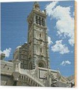 Notre Dame De La Garde Wood Print