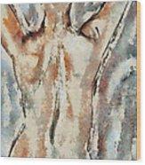 Nude Figure Wood Print