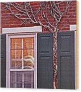 Number 42 Wood Print