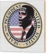 Obama-1 Wood Print