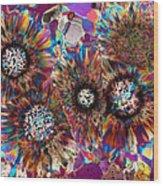 Ocean Jasper Wood Print