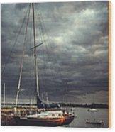 Off The Sea Wood Print
