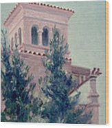 Old Bell Tower Wood Print