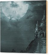 Old Castle Wood Print