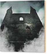 Old Haunted Castle Wood Print