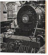 Old Steam Lock  Wood Print